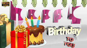 happy birthday wishes free download whatsapp status video