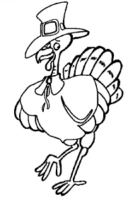 thanksgiving turkey color cute thanksgiving coloring pages getcoloringpages com