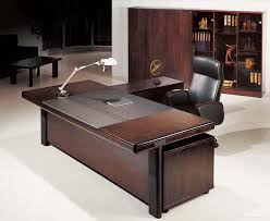 Wood Desk Ideas Inspiring Design For Large Office Desk Ideas Office Brown