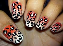 nailartgallery an easy diy for snow leopard nails easy