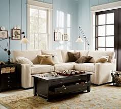 Sectional Sofa For Small Spaces by Pb Square Collection Pottery Barn