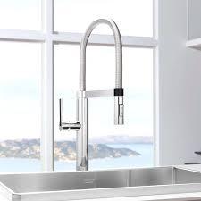 professional kitchen faucet adorable handle semi professional kitchen lanco meridian semi