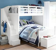 Loft Bed Set Stair Loft Bed Lower Bed Set Pottery Barn