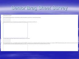 Guidance Counselor Brag Sheet Junior Information February 4 Ppt