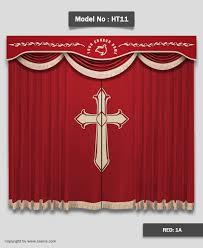 Church Curtains 57ht11red Jpg