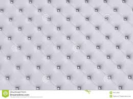 the white texture of the skin quilted sofa stock photo image