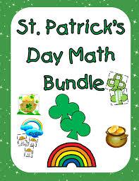 st patrick u0027s day math bundle tech and teachability