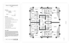 quantum on the bay floor plans one thousand museum blackstone international realty