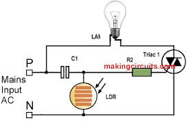 adjustable timer circuit diagram with relay output circuit