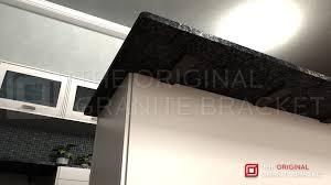 Support For Granite Bar Top T Brace Countertop Support Bracket U2013 The Original Granite Bracket