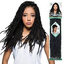 crochet hair crochet nu locs 18 synthetic braid hair by waba