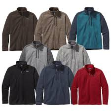 patagonia mens better sweater patagonia s better sweater 1 4 zip