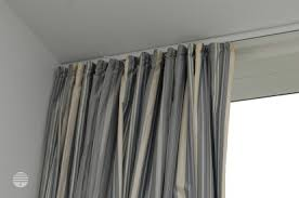 Tension Window Curtain Rods Affordable Ideas For Covering A Very Large Window Decorating