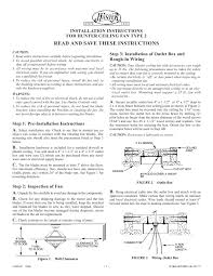28 hunter ceiling fan instruction manual 377 hunter ceiling