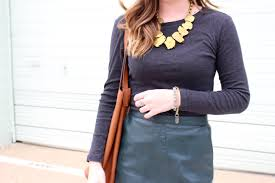 Design Blogger Livvyland Austin Fashion And Style Blogger Green Leather Skirt Zara Fashion Audrey Madison Stowe