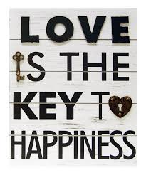 zulily home decor love is the key to happiness wall plaque zulily
