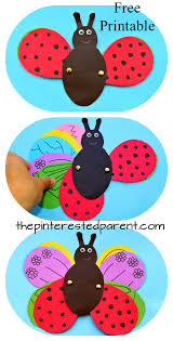 transform a ladybug into a butterfly using a free printable