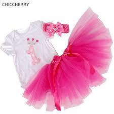 1st birthday tutu aliexpress buy crown baby 1st birthday tutu pink