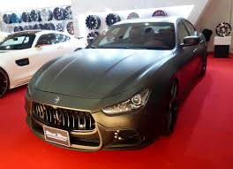black maserati sports car file osaka auto messe 2016 520 maserati ghibli sports line