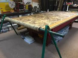 diy cutting table with integrated fabric rollers shop