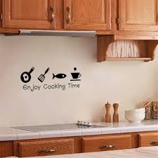 kitchen wall pictures for decoration aliexpress com buy enjoy cooking time wall decals kitchen living