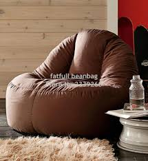 Brown Leather Bean Bag Chair Compare Prices On Bean Bag Chairs Brown Online Shopping Buy Low