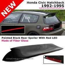 ebay honda civic parts type r style polyurethane rear bumper lip wing for 92 95 honda