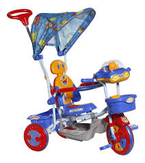 tricycle cartoon mee lets explore tricycle with canopy blue bt 860 a