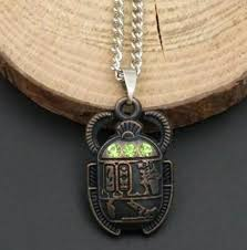 necklace pendants charms images Mixed style egyptian scarab beetle necklaces pendant necklace jpg