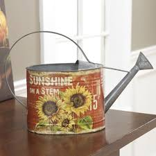 sunflower kitchen canisters sunflower topiary tree in flower pot floral decor cc 3102079 new
