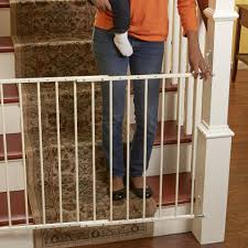 Baby Gates For Stairs No Drilling Babies R Us 24 75 42 5 Inch Secure Stairway Gate Toys