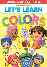 nickelodeon dvd u0027s learn colors giveaway motherhood defined