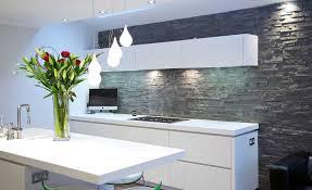 Kitchen Gray Stone Backsplash Grey Uotsh - Gray backsplash
