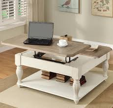 Flip Top Coffee Table by Square Lift Top Coffee Table With Fixed Bottom Shelf By Riverside