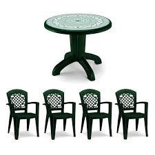 Plastic Patio Furniture Sets - round plastic outdoor table and chairs starrkingschool