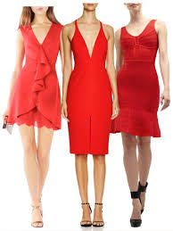 how to wear a red dress on new year u0027s eve