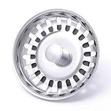 McAlpine BWSTSSTOP Kitchen Sink Strainer Plug Stainless Steel - Kitchen sink drain plug