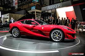car ferrari 2017 geneva 2017 ferrari 812 superfast gtspirit