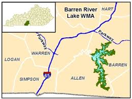 map kentucky lakes rivers kentucky department of fish and wildlife resources