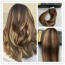 salt and pepper tape in hair extentions tape in balayage ombre human hair extensions 2 6 24 sunny human