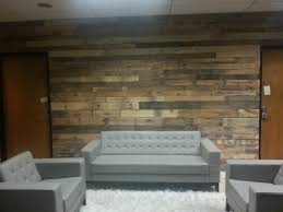 pallet wood wall pallet wall built today 8 10 13 for a business