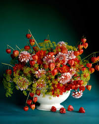 Flower Arranging For Beginners Fall Flower Arrangements Martha Stewart