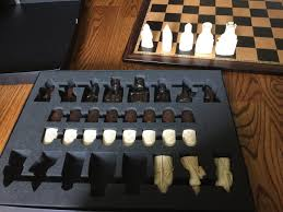 the island of lewis chess set replica youtube