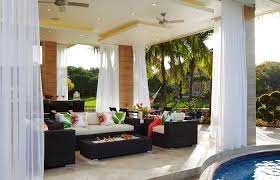 outdoor living room ideas living room indoor outdoor home plans spaces with fireplace covered