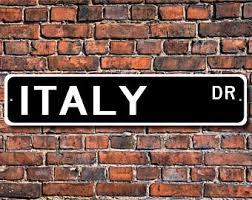 Italian Wall Decor Italy Wall Decor Etsy
