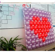 plastic balloons helium balloon 20units lot feshion plastic balloons with 9 holes