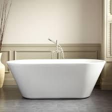 freestanding modern bathtub signature hardware