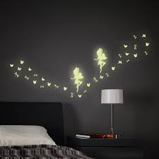 Glow In The Dark Home Decor Fairy Glow In The Dark Home Décor Line Wall Decals