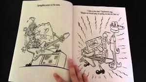spongebob coloring book spongebob u0027s best days book review youtube