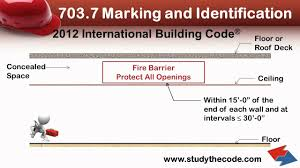 International Building Code 2012 International Building Code Identification Of Fire And
